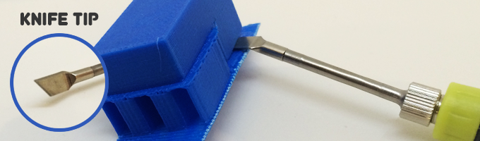 Finishing tool for 3D printing