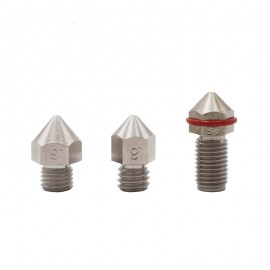 Micro Swiss brass plated nozzle