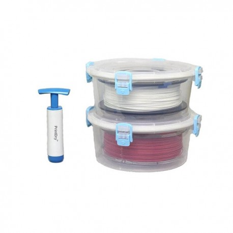 Vacuum sealed filament container