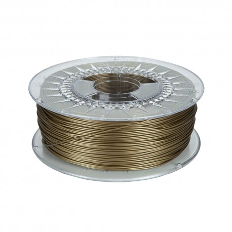 Gold ABS Basic 1.75mm spool 1Kg