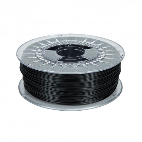 Black ABS Basic 1.75mm spool 1Kg