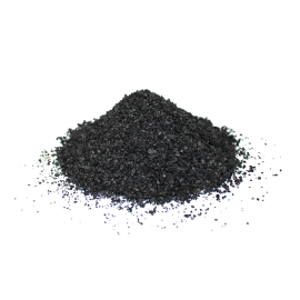 Sintering coconut charcoal