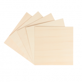Planchas  de madera de Tilo para Snapmaker 2.0