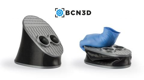 BCN PLA and flexible material