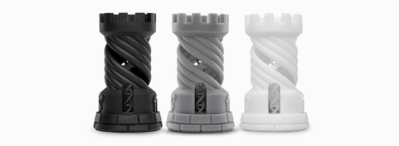 FormLabs Standard Resin White, Black and Grey