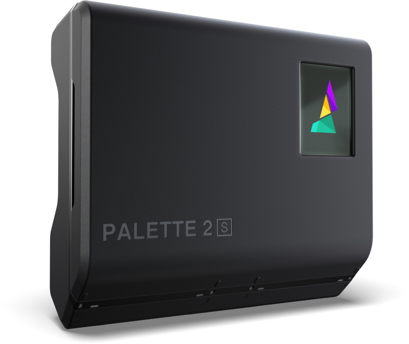 Interior parts of the Palette 2S Pro