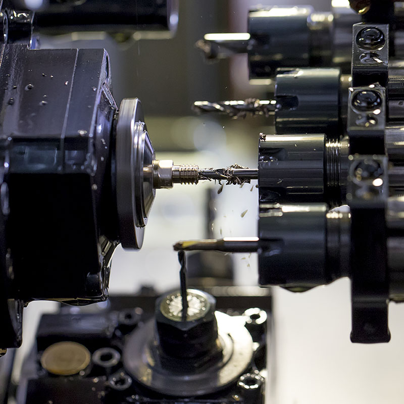 CNC machining nozzles Olsson Ruby