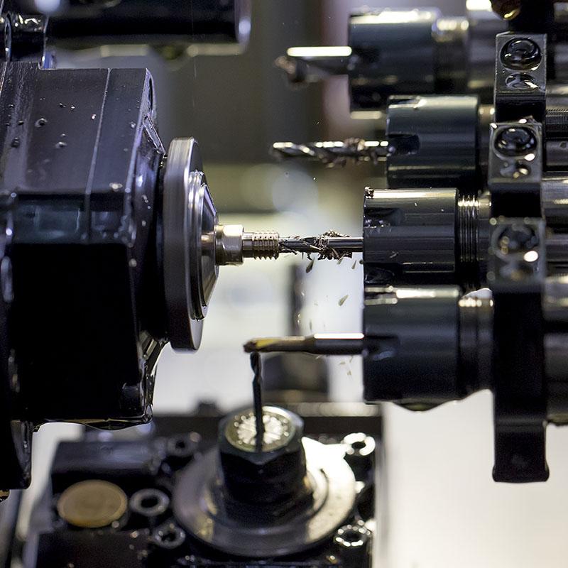 Mecanizado CNC nozzles Olsson Ruby
