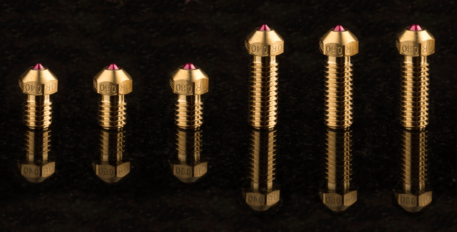 Range Nozzles Olsson Ruby and Olsson Ruby High Temp