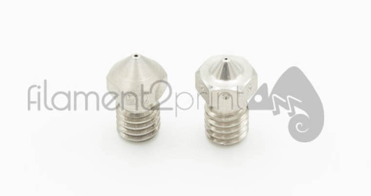 Nozzle Acero Stainless Olsson and E3D v6