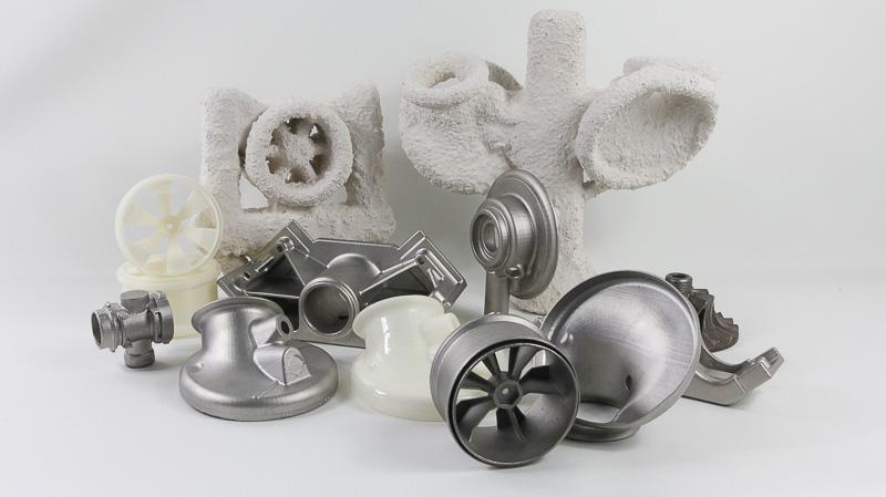 Des pièces fabriquées grâce au PolyCast