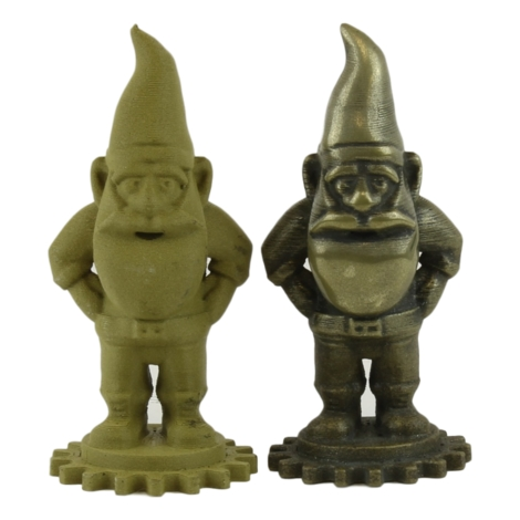 Figures printed with Brass HTPLA