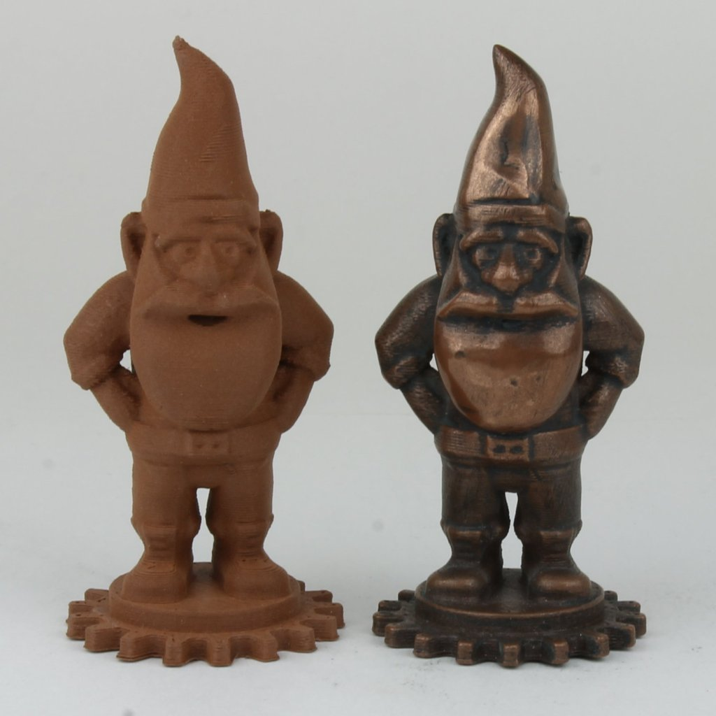 Figures printed with Copper HTPLA