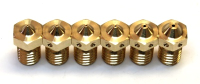 Variety of nozzles