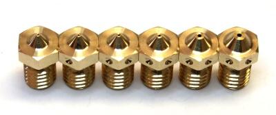 Variedad de nozzles
