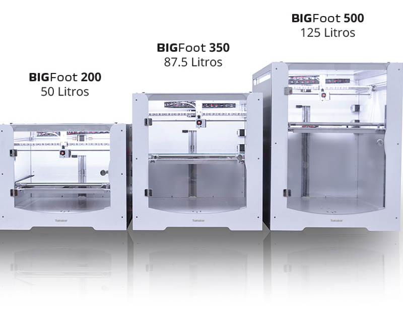 Sizes Tumaker BigFoot