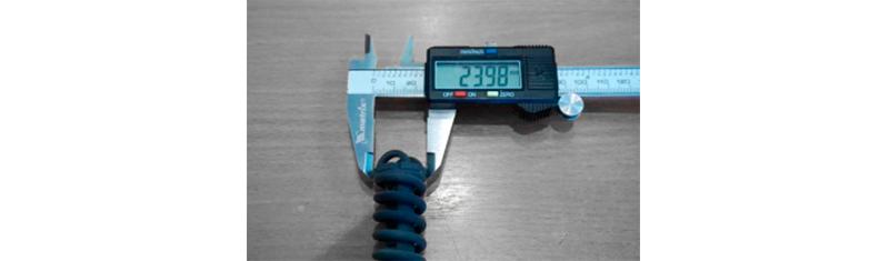 Impresión 3D de piezas con alta precisión.