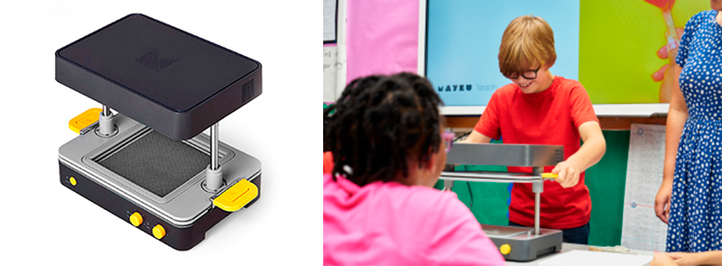 Use of Mayku formbox in the educational environment