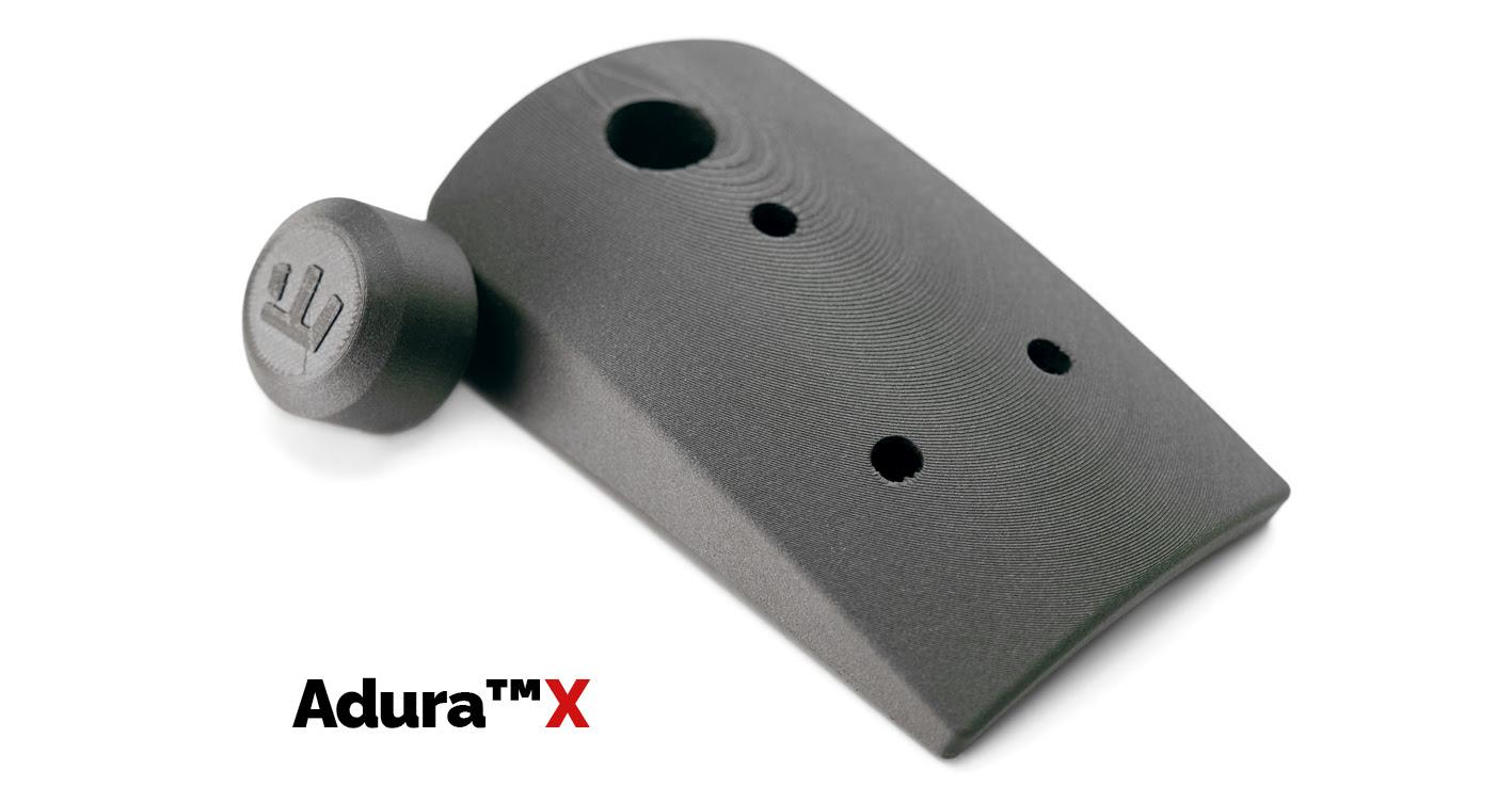 Parts printed with Adura X