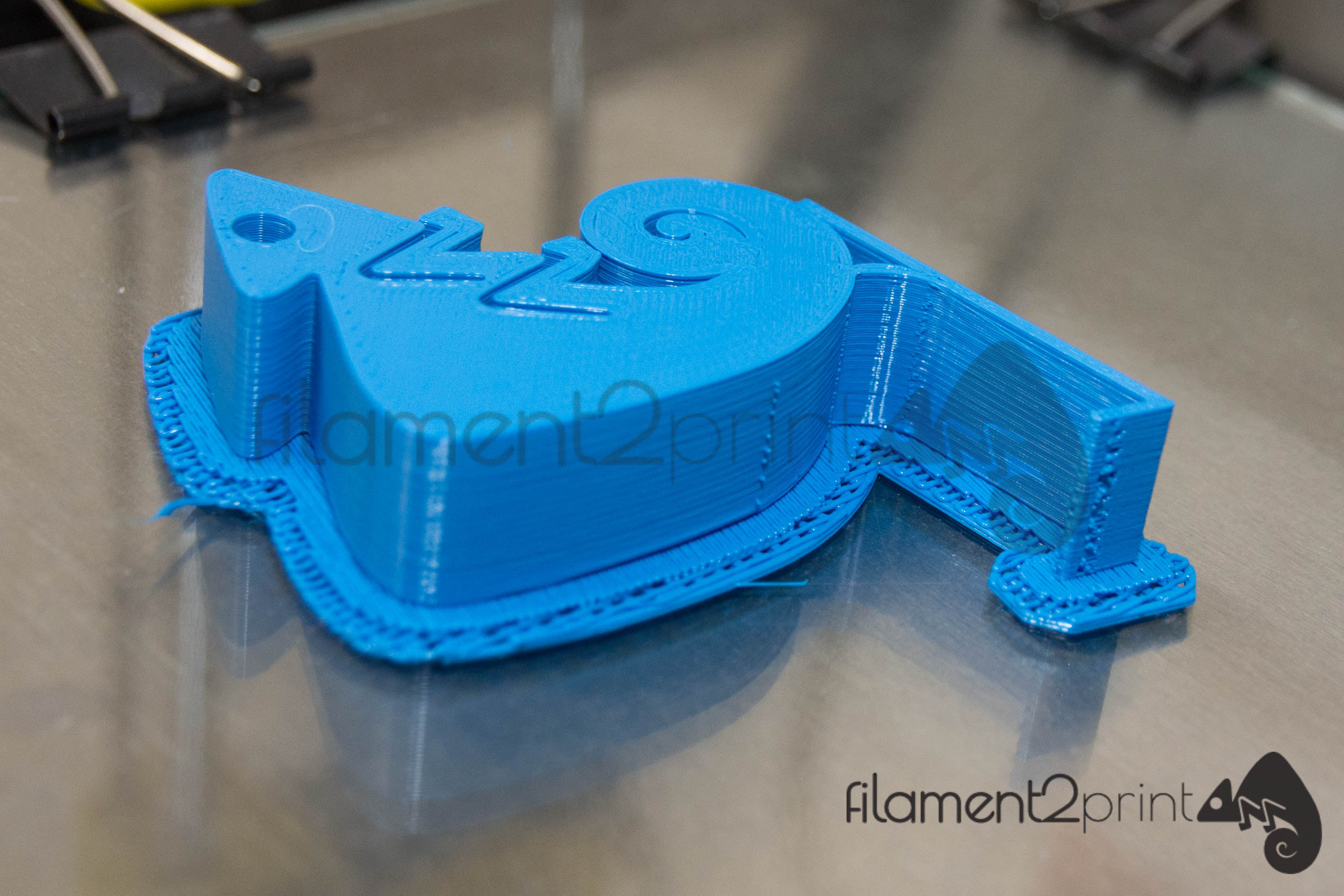 RAFT example of 3D printing