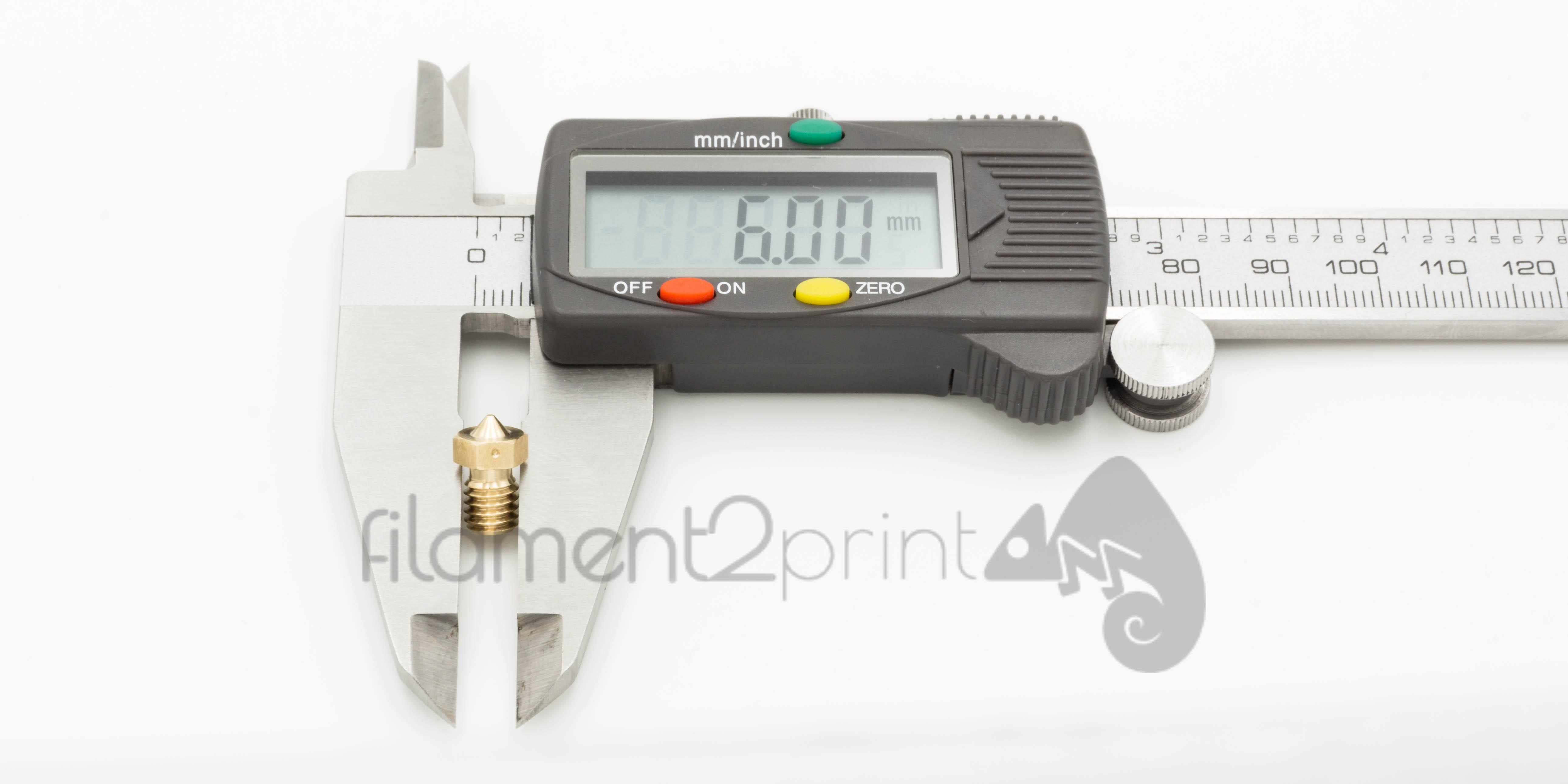 Diametro de nozzle impresora 3D