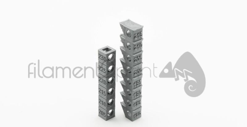 Torre de calibración de temperatura impresión 3D