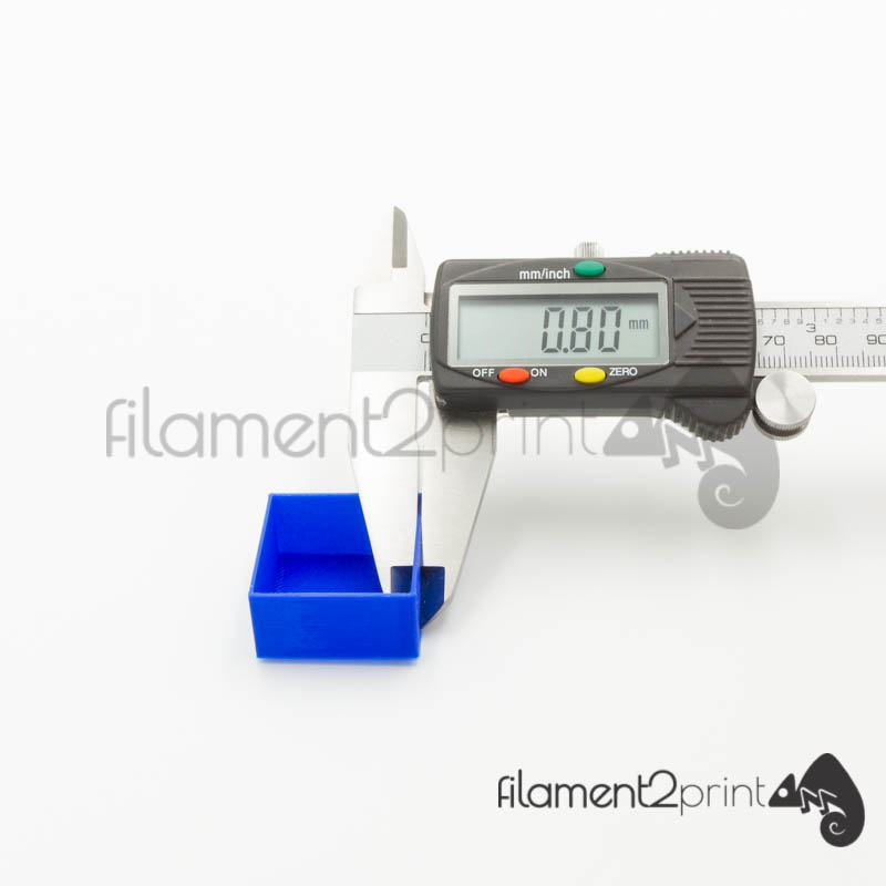 Correct measurements when calculating the flow rate required for the PLA