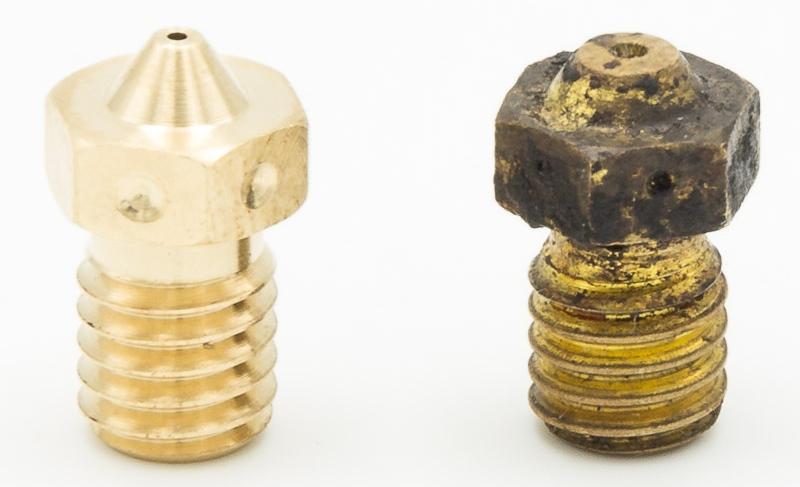 Comparaison entre les nozzles