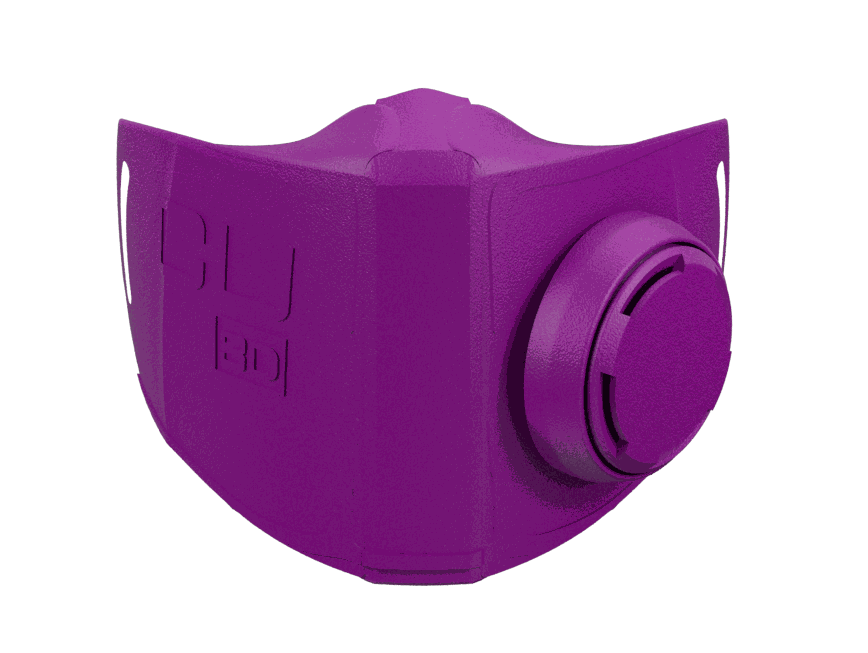 Diseño mascarilla impresa en 3D