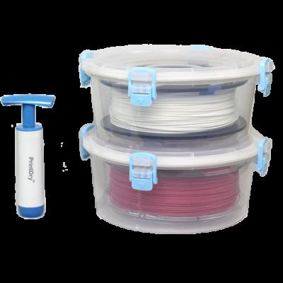 Récipients à filament scellés sous vide
