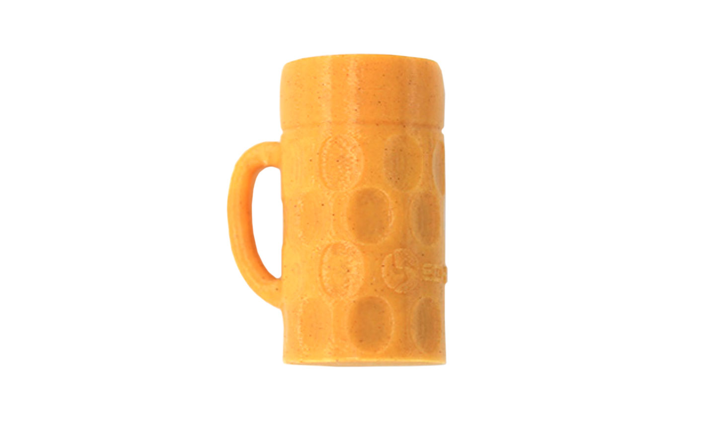 Beer mug printed with the Buzzed filament.