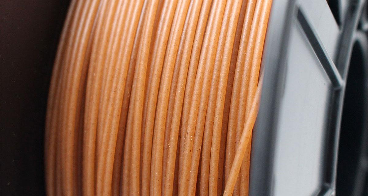 Color y textura del filamento Entwined™.