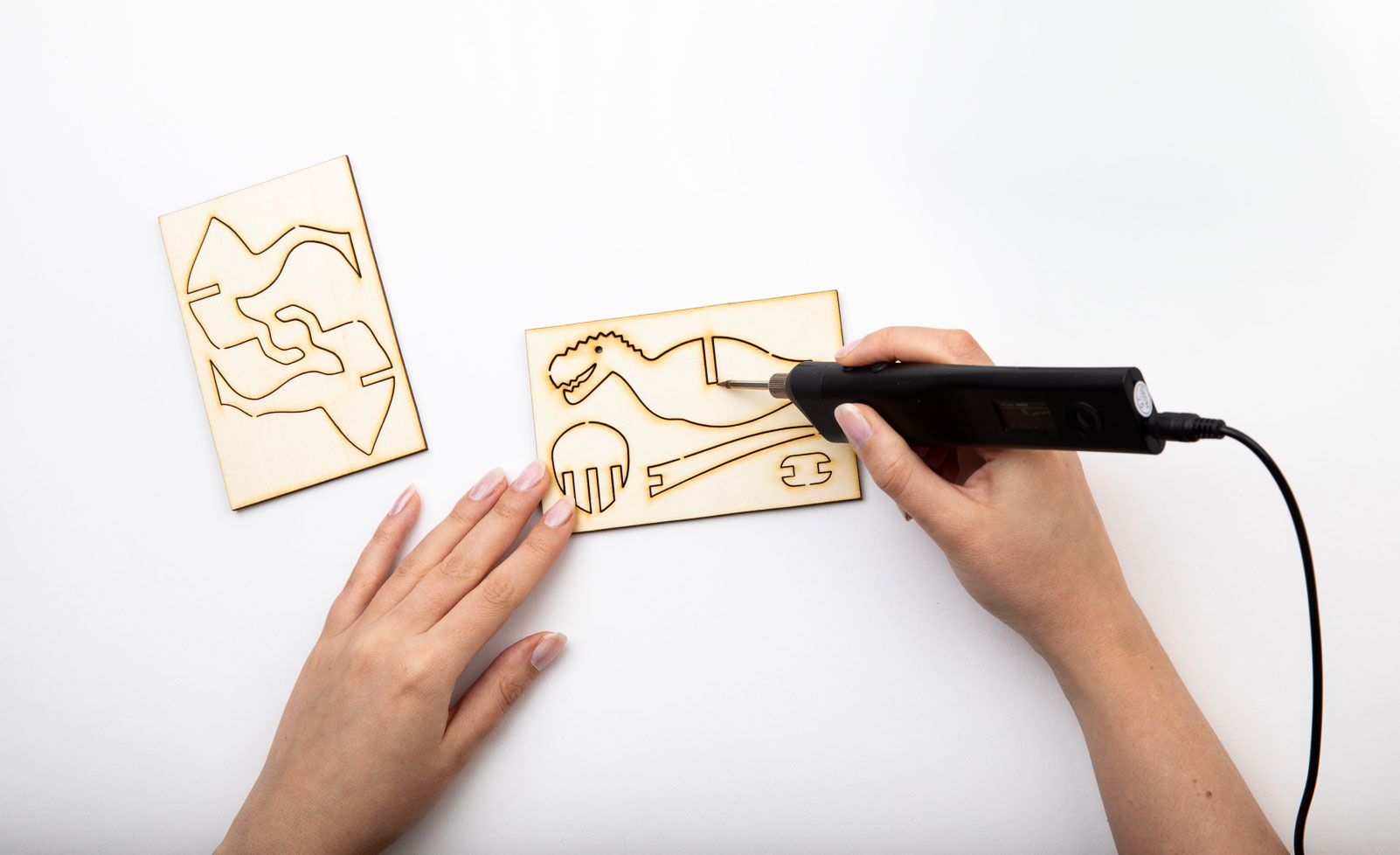 Pyrography tool.