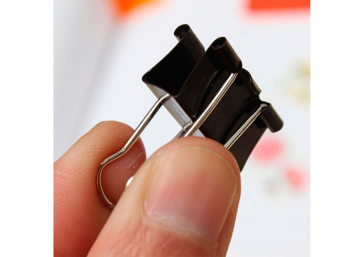 Clip para base de impresora 3D