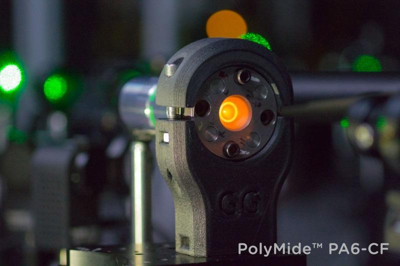Laser cell holder