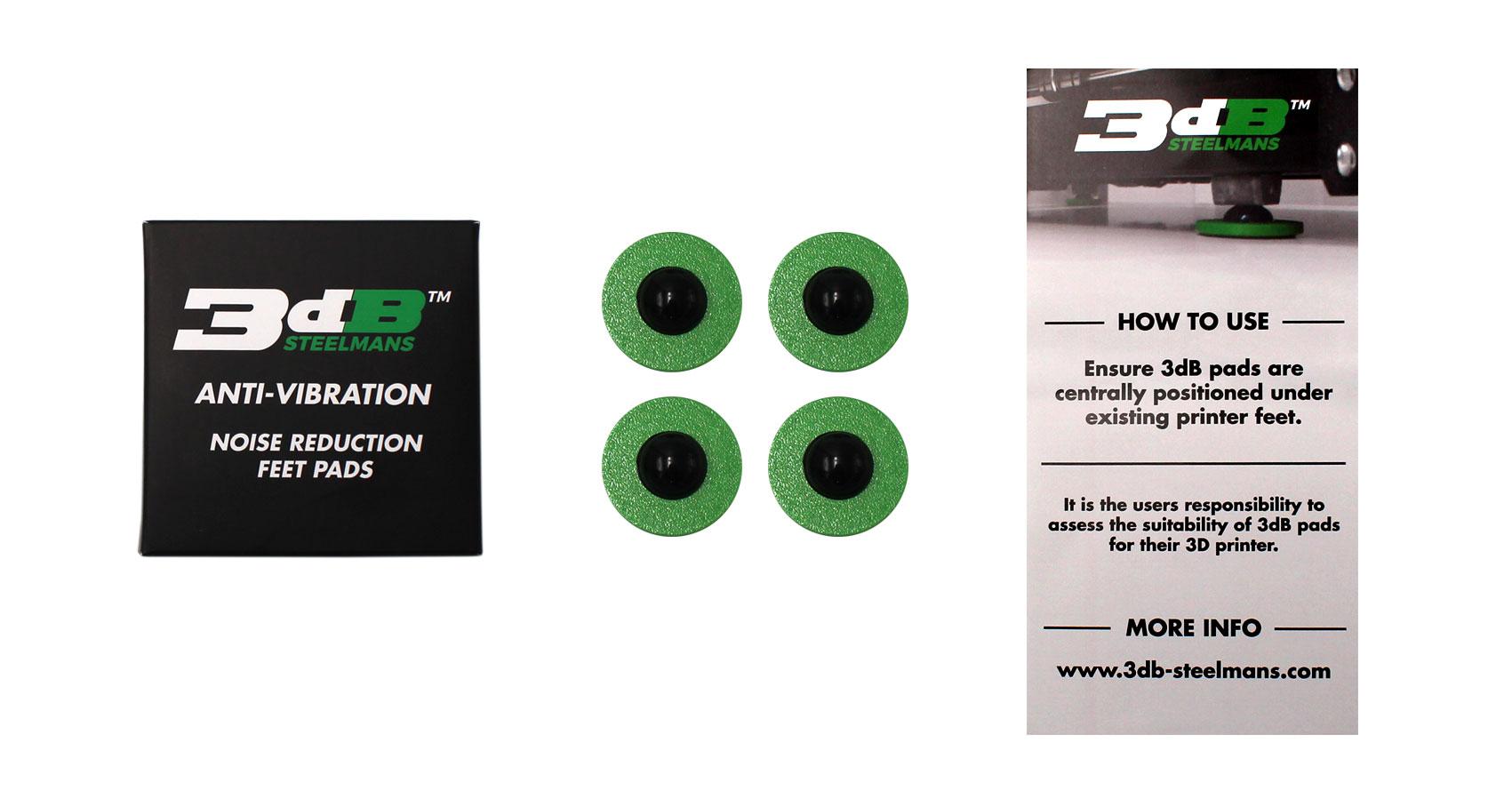3DB anti-vibration pads.