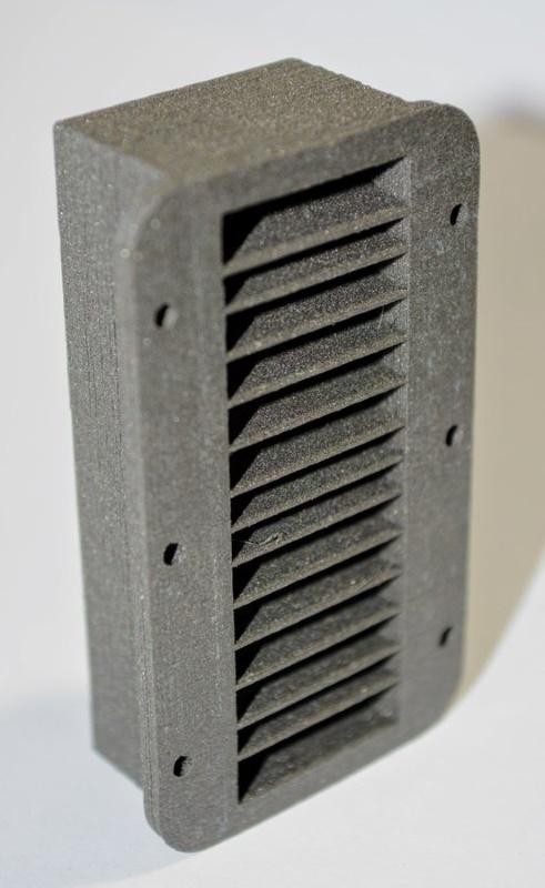 Colimador fabricado con tungsteno sin sinterizar