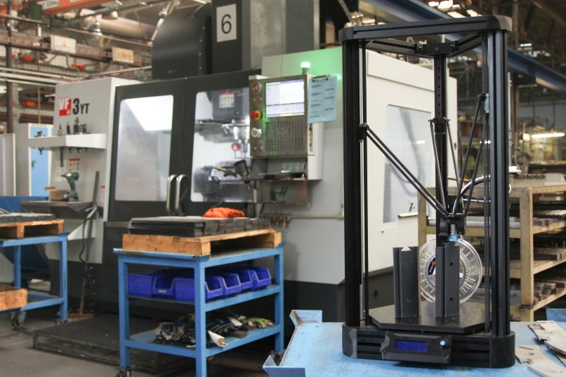 DeltiQ XL in a machining center