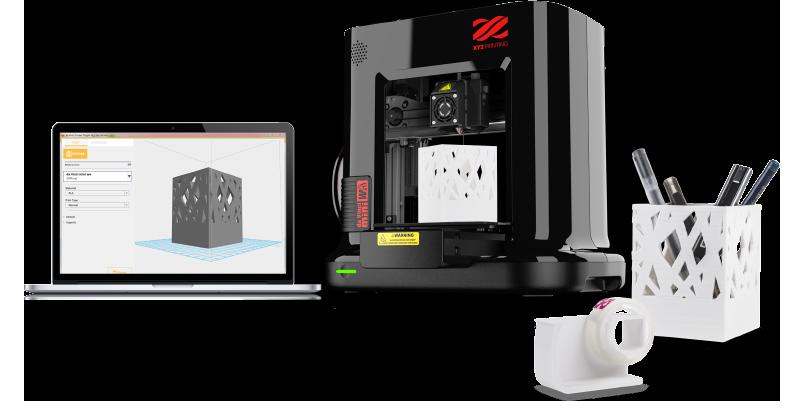 Impresora 3D FDM XYZ Da Vinci mini w+