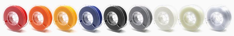 Filamentos compatíveis com Raise3D Serie Pro2