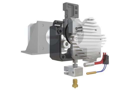 Types of 3D extruders and Hotend