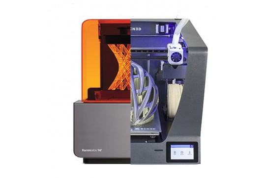 How are FDM and SLA 3D printing technologies different?
