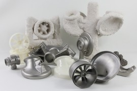 Manufacture by 3D printing of metallic pieces in lost wax vs DMLS