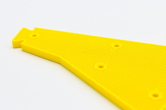 The importance of the type of infill in 3D printing